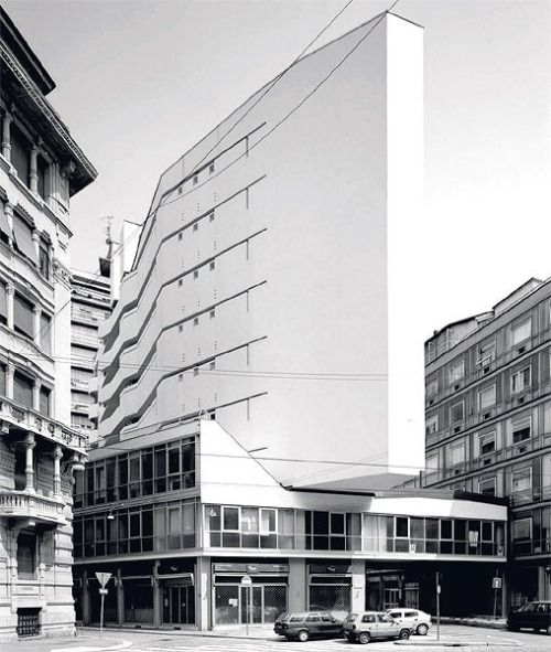 Luigi Moretti - Corso Italia Complex, Milan 1956. Via.