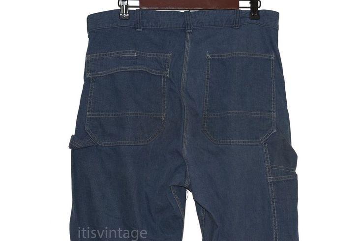 Vintage Denim Sears Waldes Zip Union Duck Cloth Label Carpenter Work Jeans 34x33 | Clothing, Shoes & Accessories, Men's Clothing, Jeans | eBay!