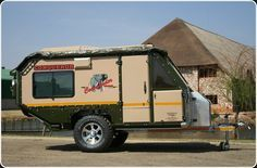 Commander - The Original Off-Road Caravan ULTIMATE bug out trailer for family when having to evacuate
