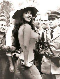 CHELO ALONSO: RETRO CUBAN ACTRESS. 1960's U.S. CULT FILM HEROINE / SEX SYMBOL.