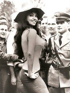 Long before JLo, Beyonce, Halle, or Salma...there was CHELO.    Chelo Alonso - U.S. Actress of Cuban descent, 1960' U.S. Cult Film Heroine and Sex Symbol.