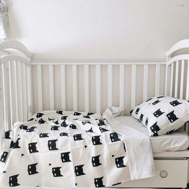 Baby Bedding - Nursery Bedding Set - Black Batman Bedding - Baby Bedding Crib - Unique Bed Clothing - Handmade Bedding Set - Black And White by KarambaKids on Etsy