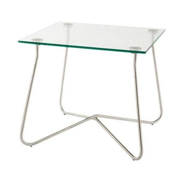 Control Brand The Chania Outdoor End Table Clear By ($198) ❤ liked on Polyvore featuring home, outdoors, patio furniture, outdoor tables, accent tables, outdoor end tables, outside side table, outdoor patio table, contemporary side tables and outdoor side table