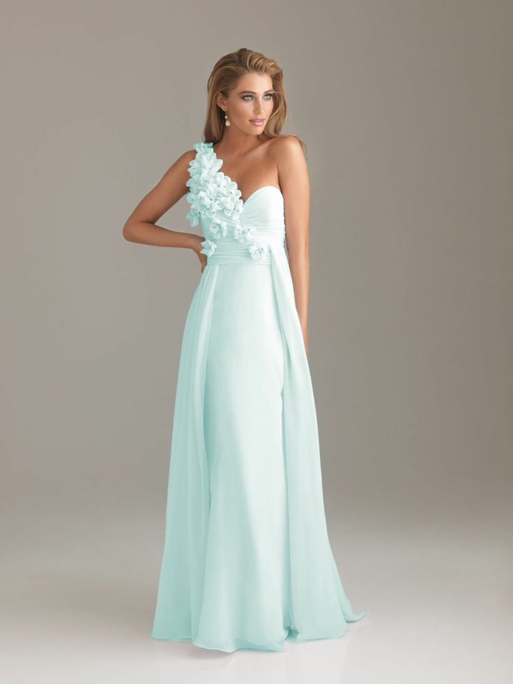 Baby Blue Prom Dresses Hand Flower Baby Blue Prom Dresses Style 6480 3 Fashion Prom