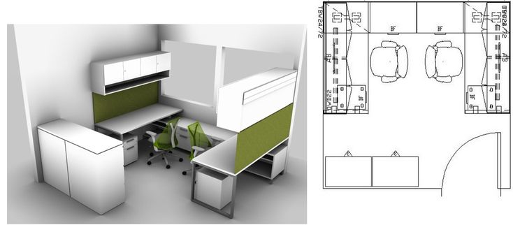 small space office layout ideas for 2 people in a 10 x 10 space for