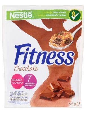 Nestle NESTLE 225g Fitness Chocolate Płatki śniadaniowe