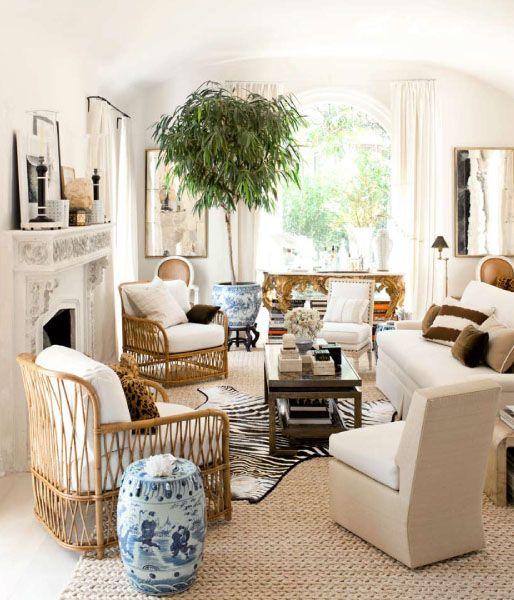 California Living Room Of Mark D Sikes