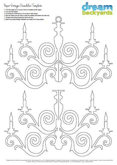 Paper chandelier PDF download: