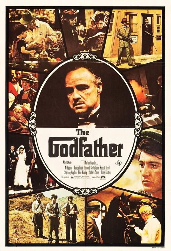 The Godfather 1972 Retro Classic Movie Art Silk Cloth Poster 13x20 20x30 24x36 27x40 Home Wall D In 2020 Movie Posters Classic Movie Posters Godfather Movie