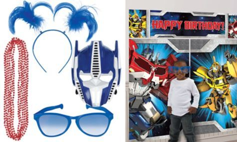 Transformers Photo Booth Kit - Party City