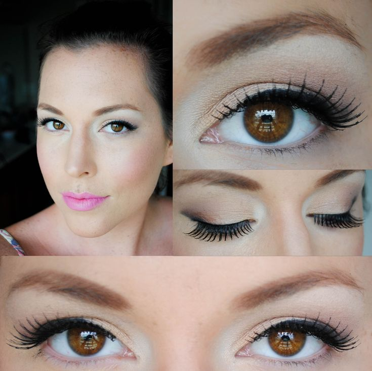 Natural looking eye make up in 5 minutes