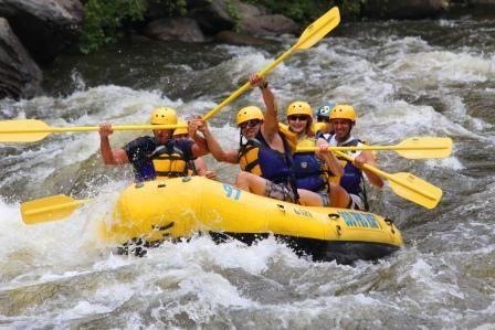 Rafting In the Smokies, Gatlinburg Rafting, Pigeon Forge Rafting, White Water Rafting Tennessee