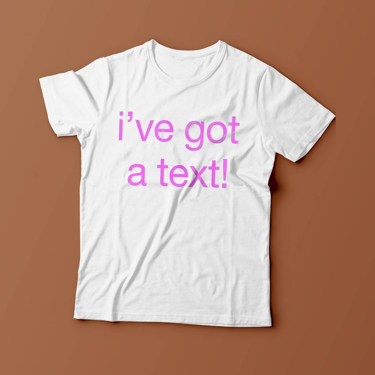 I Got A TXT! Love Island Funny Tv Show Summer Unisex Primark Mens Womans T Shirt New S - XXL by ToffeeTees on Etsy