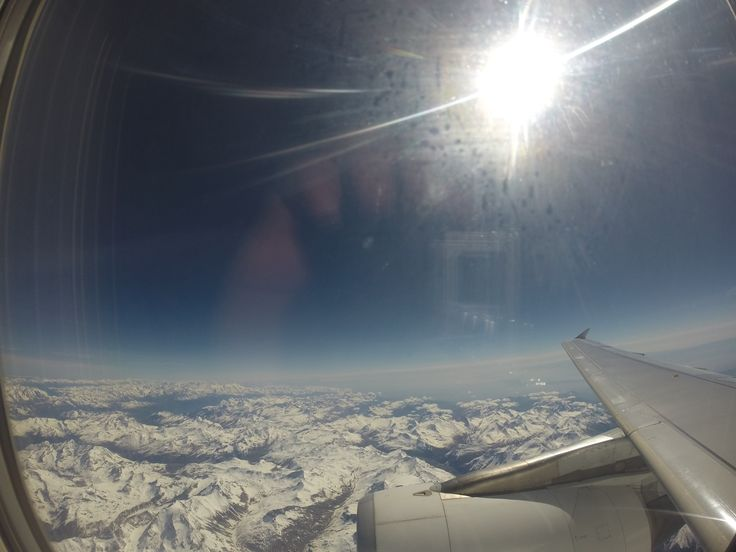 travelling over the Alps