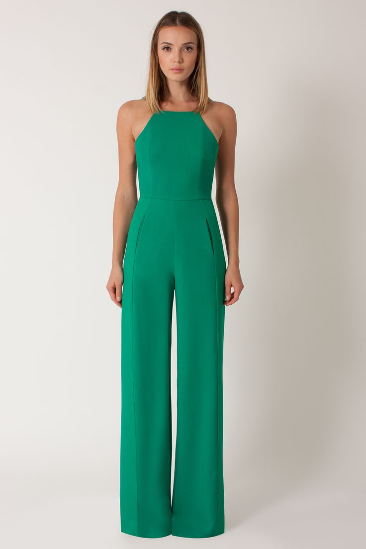 Love the look and cut of this. The color is also great! Joaquin green Jumpsuit