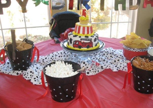 67 Best Quot Fire Truck Quot Themed Party Images On Pinterest