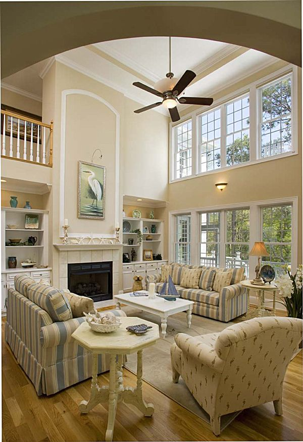 Bay House Plans 144 best living/great rooms with style - the sater design
