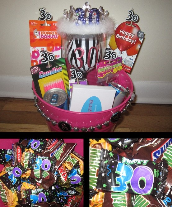 Turning 30 Birthday Basket: 50 Best Images About Turning 30!! On Pinterest