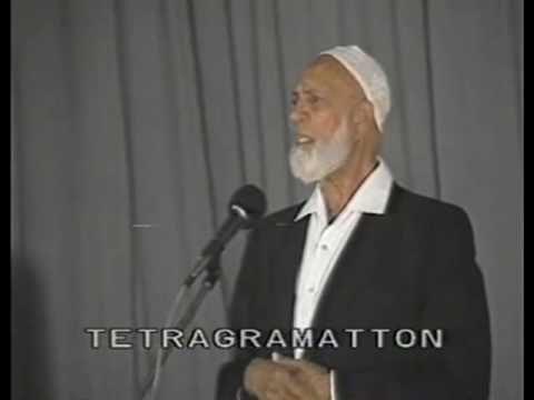 Ahmad Deedat - Is Jesus God? (Lecture) - 8