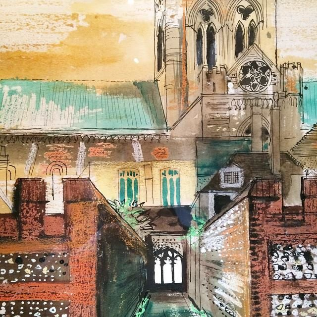 """Chichester Cathedral"" by John Piper"