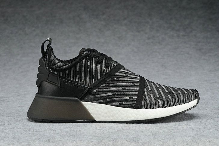 2017 NEW UA OFF White x Adidas NMD R1 Real Boost BA6520