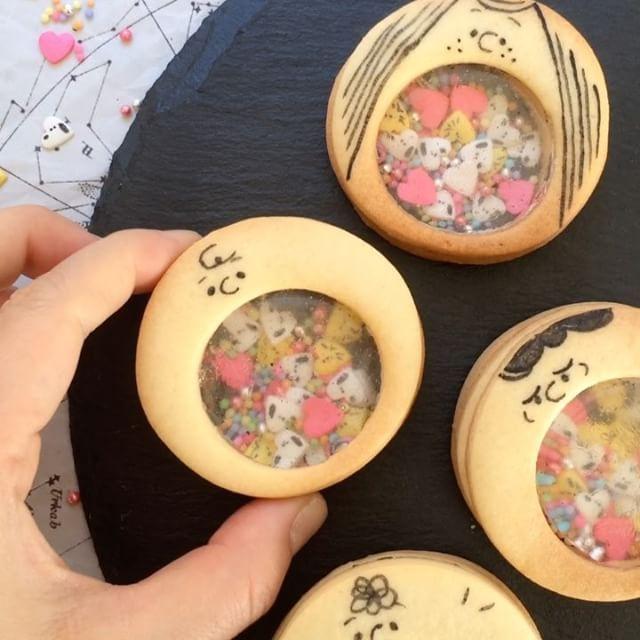 """大人気「ステンドグラスクッキー」の進化系! """"シャカシャカクッキー""""が可愛すぎる♡ - LOCARI(ロカリ)"""