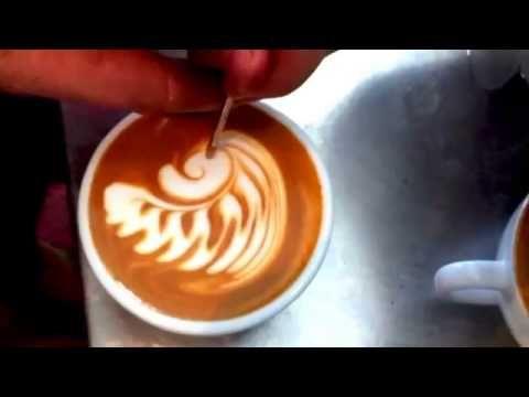 Латте арт: как сделать рисунки на кофе в домашних условиях | YACENKA