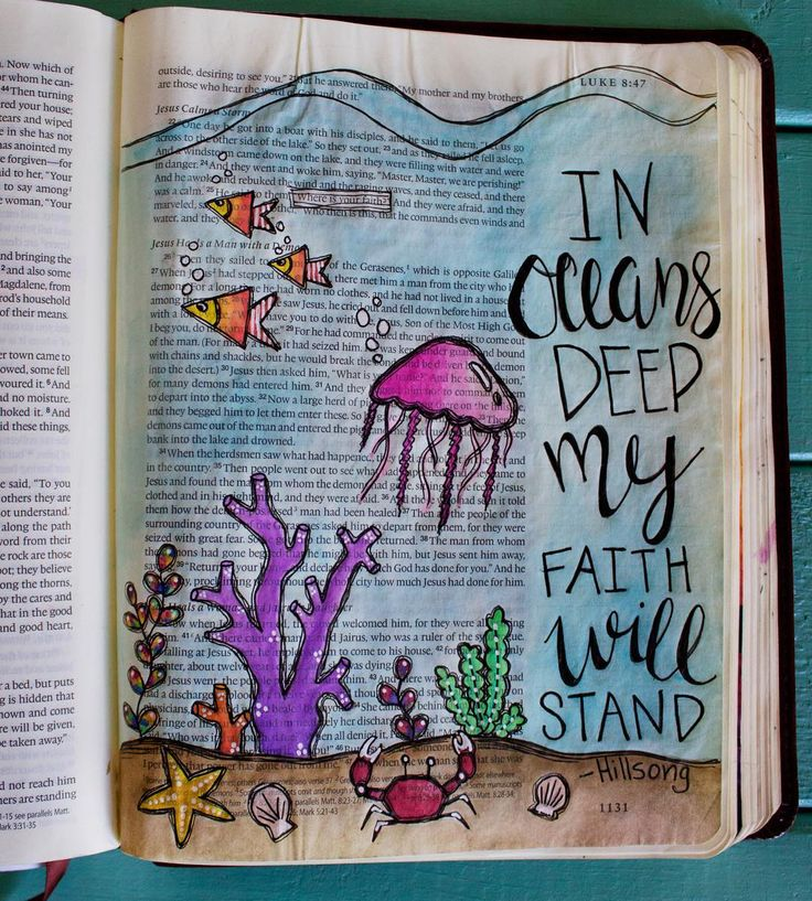 Up until recently I haven't felt led by the Holy Spirit to share my illustrated faith journey on social media. When I discovered Bible Journaling last September I was immediately intrigued. I became very passionate about spending time in His Word. As I draw and paint I allow myself to truly meditate on the word. Bible Journaling has literally increased my spiritual growth and knowledge of Gods Word in such a limitless way! So I have decided to share my journey with the hopes that it will…