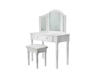 25 beste idee n over kaptafel spiegel alleen op pinterest schoonheid kamer dressing room - Kruk voor dressing ...