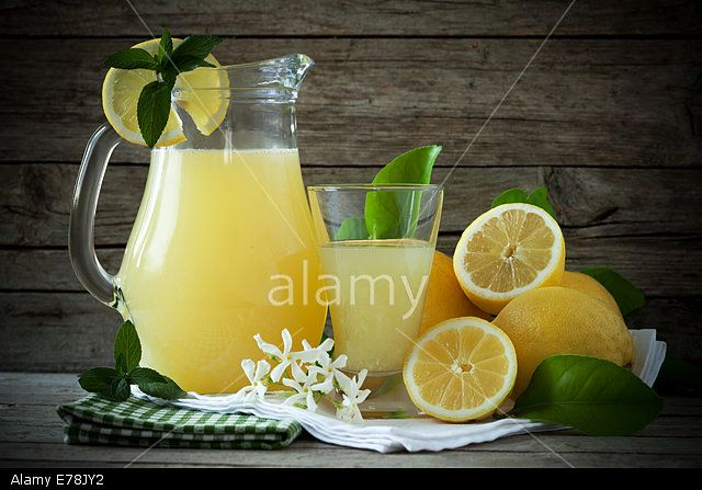 Refreshing Lemonade Stock Photo, Picture and Royalty Free Image. Pic. 73334550