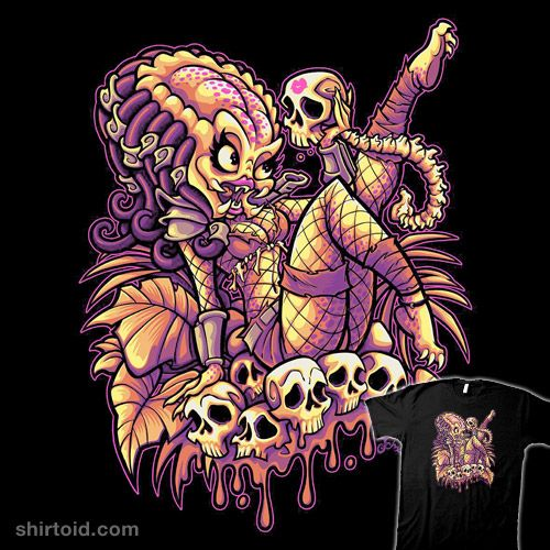 Sexual Predator #beastpop #film #jaredmoraitis #jehsee #movie #pinup #predator #scifi #skull #yautja