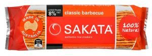 Sakata Rice Snack Crackers  BBQ - really crunchy!