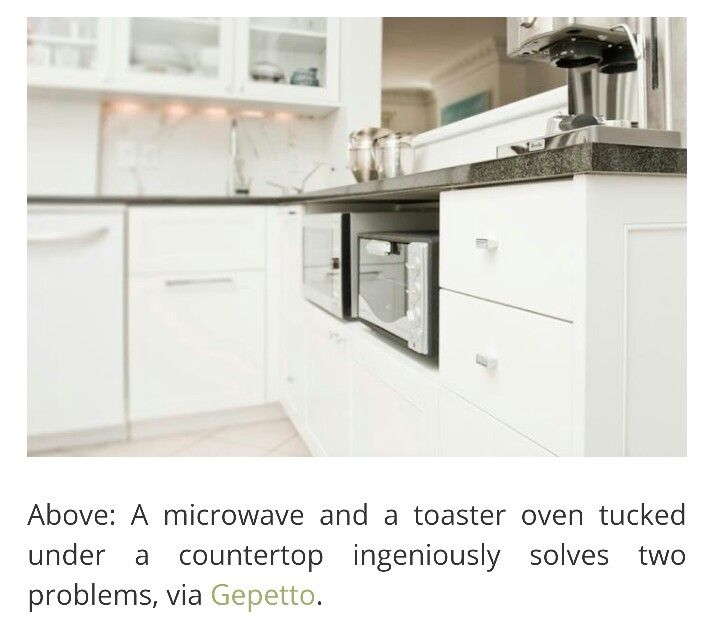 Best 25+ Under Counter Microwave Ideas On Pinterest | Small Marble Kitchen  Counters, U Shaped Kitchen And Small Marble Kitchens