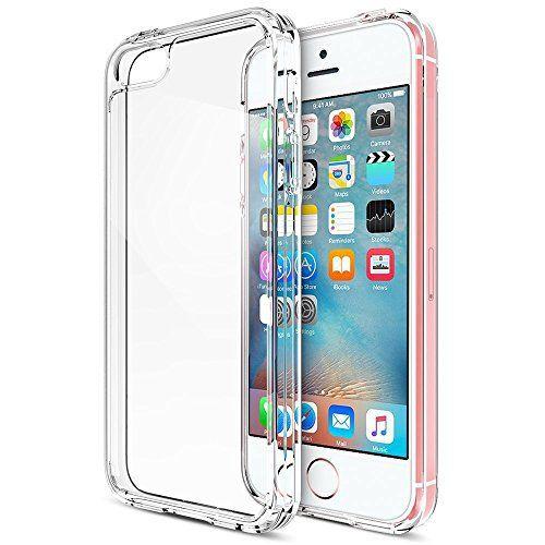 iVoler iPhone SE/5/5S/5c TPUスマホケース/保護カバー 軽量ソフト クリア 超薄型 耐衝撃 一体型 脱装簡単 透明