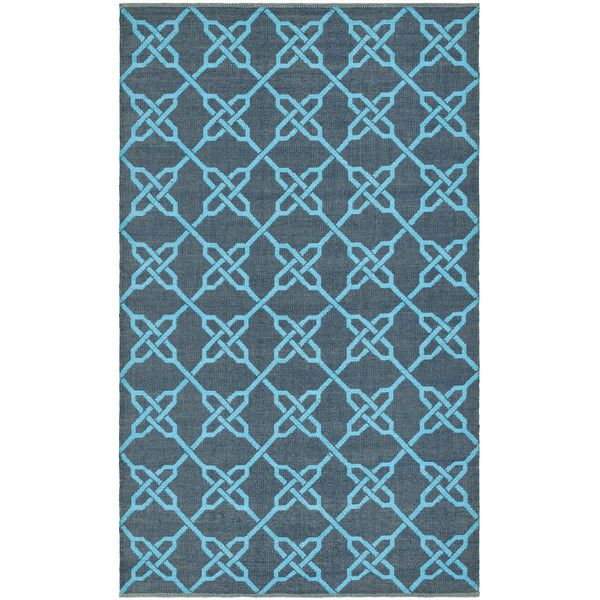 Thom Filicia Spray/blue Outdoor Area Rug