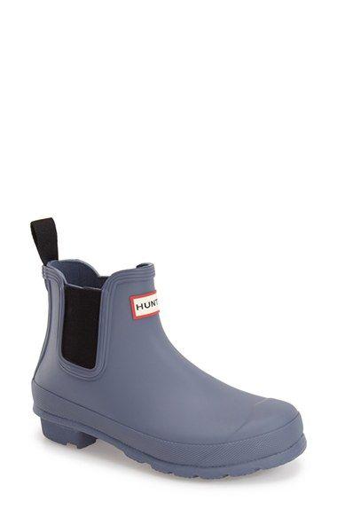 Hunter+'Original'+Waterproof+Chelsea+Rain+Boot+(Women)+available+at+#Nordstrom