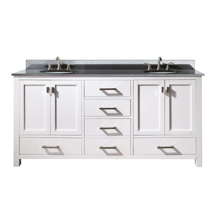 8 best modern semi recessed sinks images on pinterest for Lowes semi custom bathroom cabinets