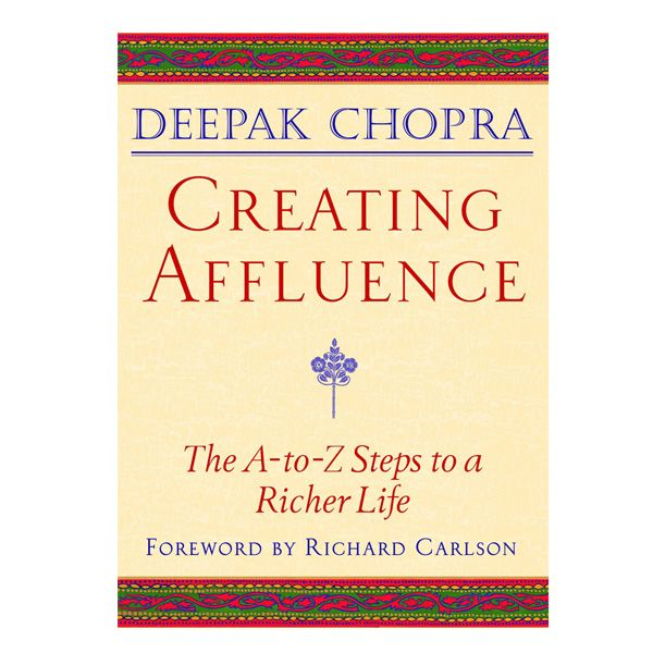 "Creating Affluence -  The precursor to The Seven Spiritual Laws of Success, this book explores the full meaning of ""wealth consciousness"" with clear and simple wisdom. According to author Deepak Chopra, ""Affluence includes money but is not just money. It is the abundance, the flow, the generosity of the universe, where every desire we have must come true, because inherent in having the desire are the mechanics for its fulfillment.""     Over 300,000 copies sold of ..."