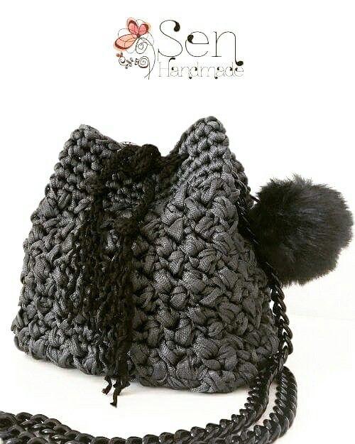 crochet bucketbag
