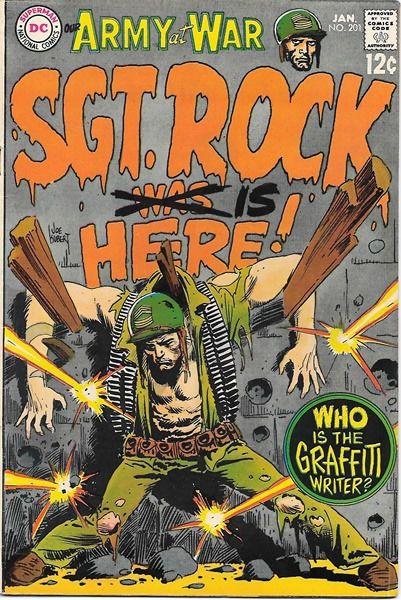 Our Army At War Comic Book #201, DC Comics 1969 FINE • $14.99 - PicClick