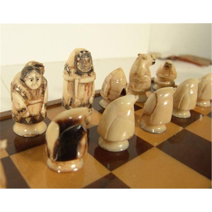 Eskimo Chess Set