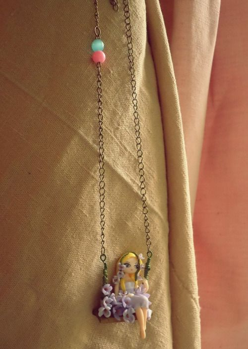 Fairy Swing Necklace