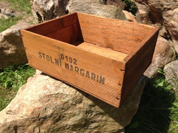 Stará bedýnka - lazura Xyladecor dub / Old Crate - Oak Stain Xyladecor