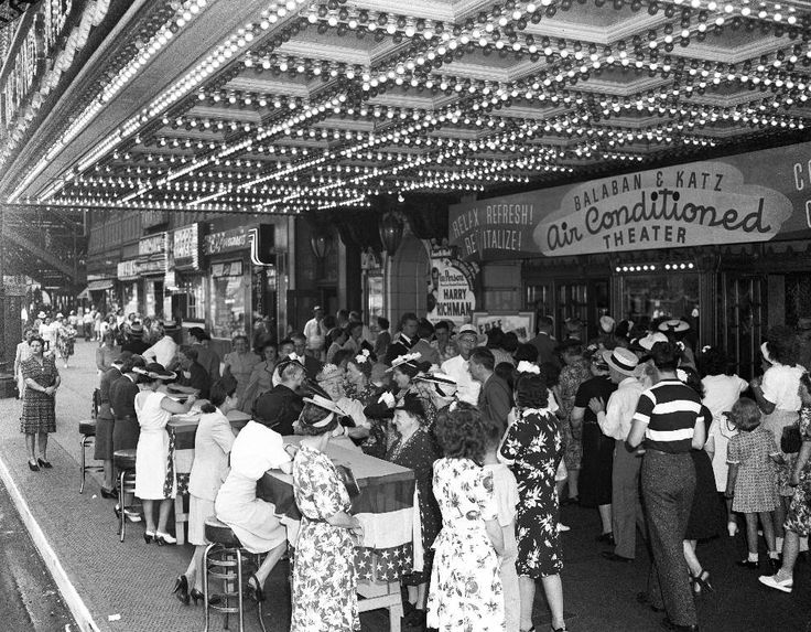 chicago theater building 1944 Google Search Chicago