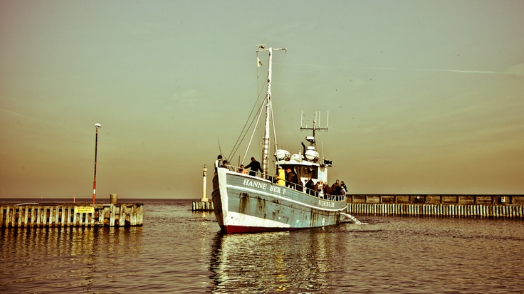 Danish Fishing Boat! Teach a man to fish!
