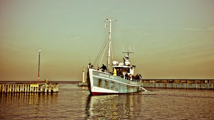 Danish Fishing Boat! Teach a man to fish!