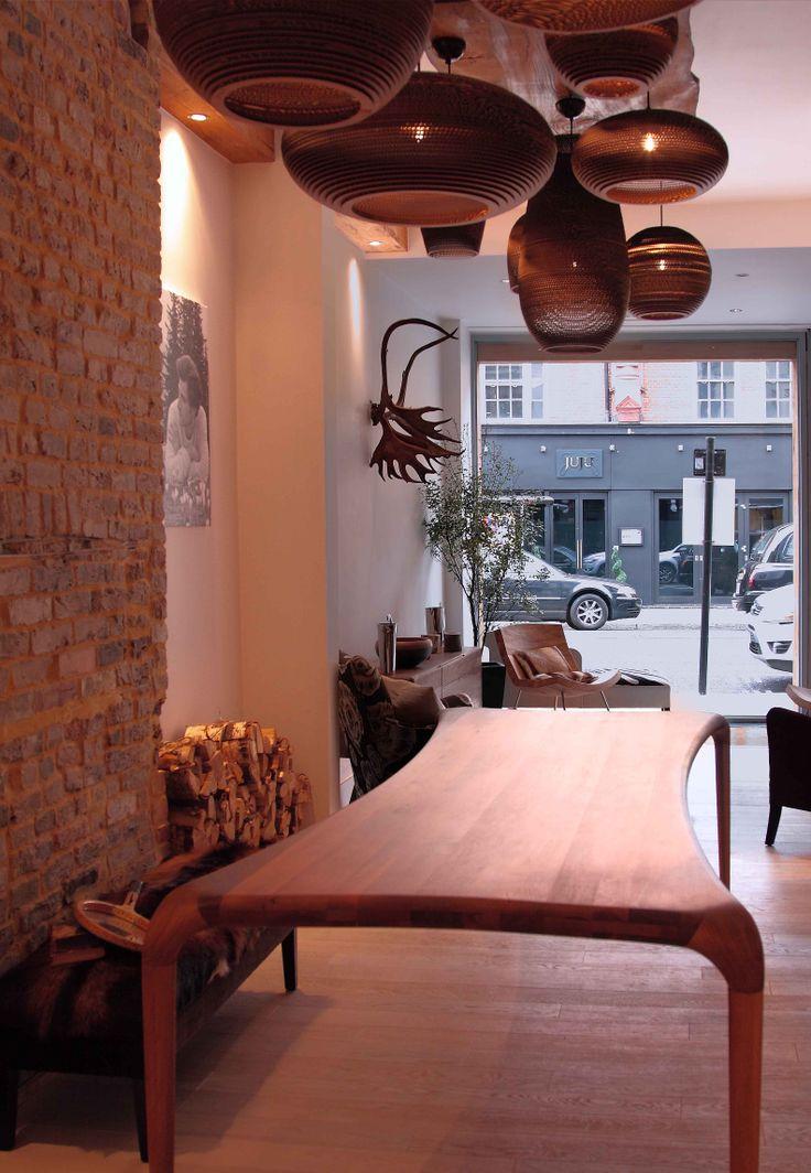 Charming Artisan CASTULA Table With Gray Pants Lights. Available At Ninau0027s House On  The Kingu0027s Road