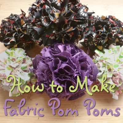 how to make honeycomb pom poms step by step