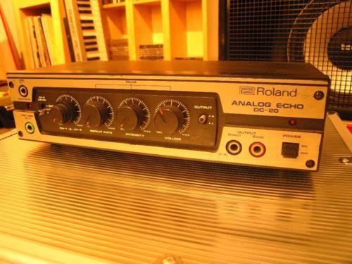 Roland Analog-Echo DC20 (1978)