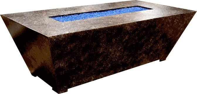 how to build a rectangular fire pit with bricks
